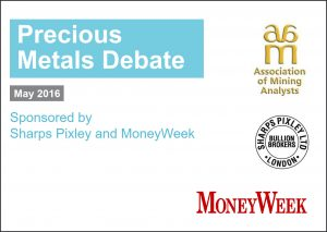 Gold debate slide picture